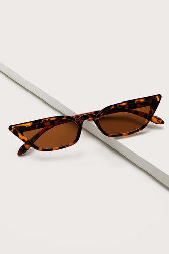 front_Summer Elma Brown Cat Eye Sunglasses