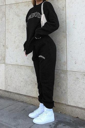 back_Esther Paner Black Sweatpants