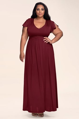 back_Earnest Of Style {Color} Maxi Dress