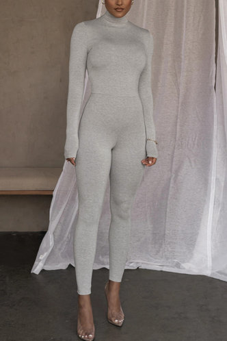back_Lilith Eileen Light Grey Jumpsuit
