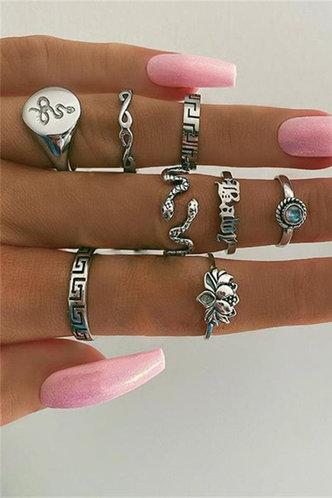 front_Annabella Elsa Sliver Ring 8pcs