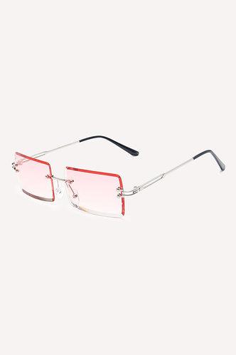 back_Summer Eleanore Pink Metal Frame Tinted Lens Sunglasses