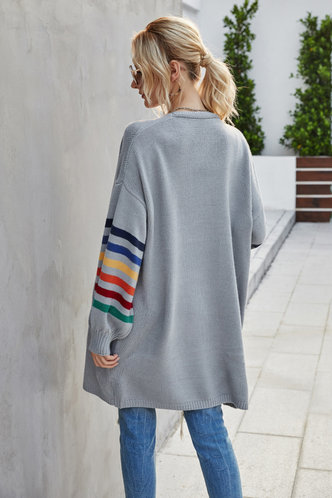 back_Janis Grey Cardigan
