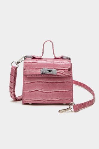 front_Zola Elma Pink Satchel Bag