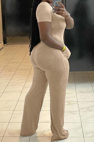 back_Bertha Ethel Khaki Jumpsuit