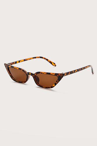 back_Summer Elma Brown Cat Eye Sunglasses