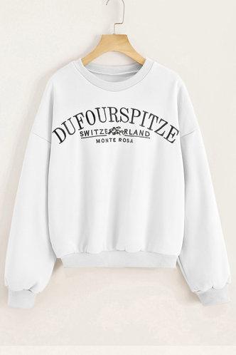 back_Zona White Sweatshirt