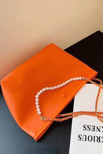 back_Erica Ostum Orange Shoulder Bag