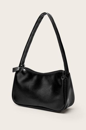 back_Christine Eartha Black Shoulder Bag