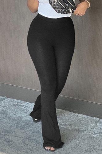 front_Katherine Elsie Black Pants