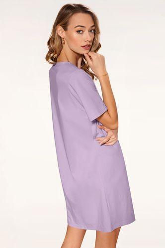 back_My Own Story Purple Mini Dress