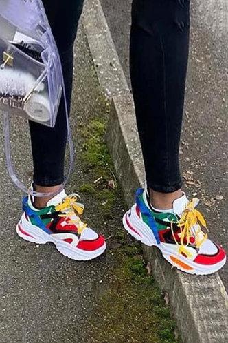 front_Henrietta Erin Multicolor Sneakers