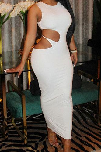 front_Rosalind Elsa White Dress