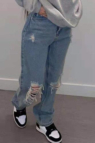 back_Christina Flugil Wash Blue Jeans