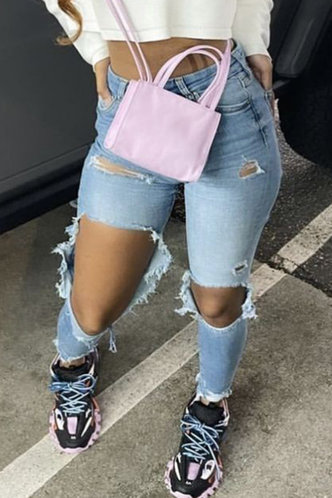 front_Cheryl Eunice Wash Blue Jeans
