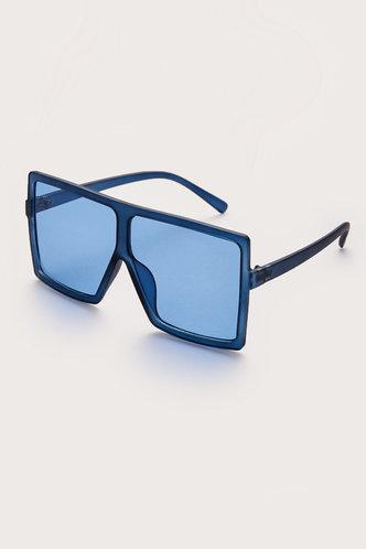 back_Summer Elizabeth Blue Square Frame Sunglasses