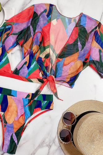 front_Cecilia Elma Colorblock Bikini