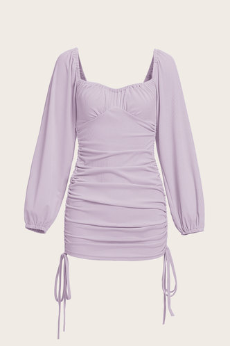 back_Dana Edith Purple Knot Side Dress