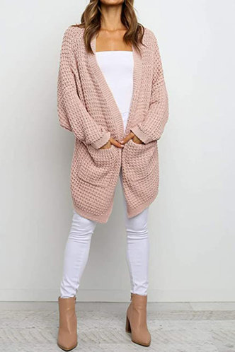 front_Carole Baby Pink Cardigan