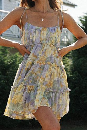 front_Addie Emily Floral Print Tie Shoulder Mock Dress