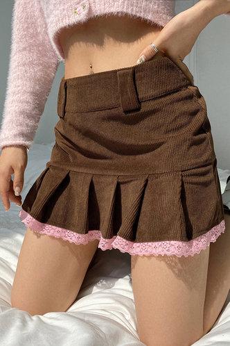 front_Ingeborg Eileen Brown Skirt
