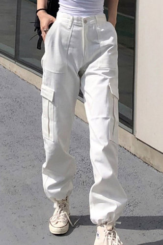 front_Florence Lumstel White Pants