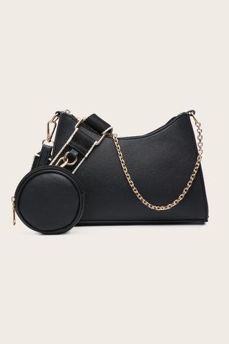 front_Joa Elma Black Crossbody Bag