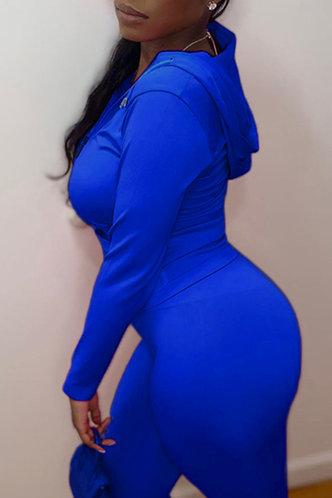 back_Iris Erica Navy Blue Activewear Set