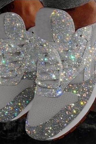 front_Flora Flugil Silver Sneakers