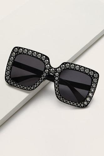 front_Sue Elma Grey Acrylic Frame Glasses
