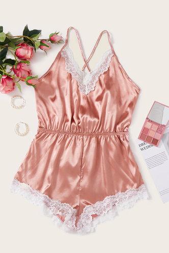 back_Edwina Laget Pink Loungewear