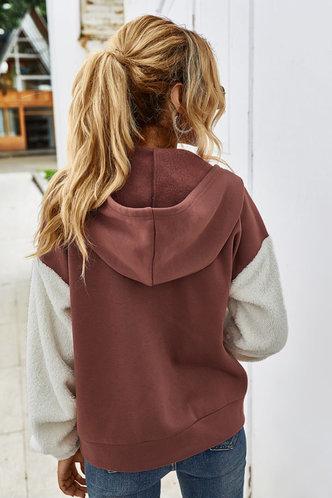 back_Efia Redwood Hooded Jacket