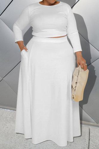 front_Deborah Evangeline White Plus Set