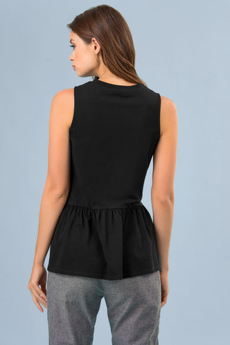 back_Ruffle Around {Color} Top