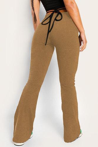 back_Margie Ella Khaki Flare Pants
