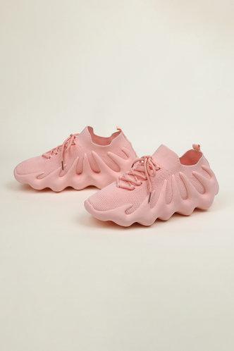 front_Denise Junul Pink Sneakers