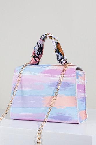back_Ethel Nomum Multicolor Satchel Bag
