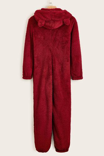 back_Fiorenza Red Sleepwear