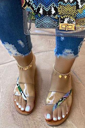 front_Hazel Pentium Brown Thong Slide Sandals