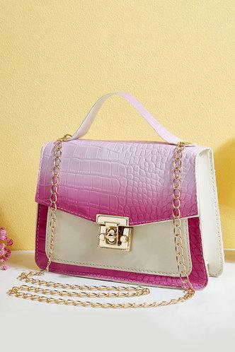 back_Eunice Hhorum Pink Gradient Satchel Bag