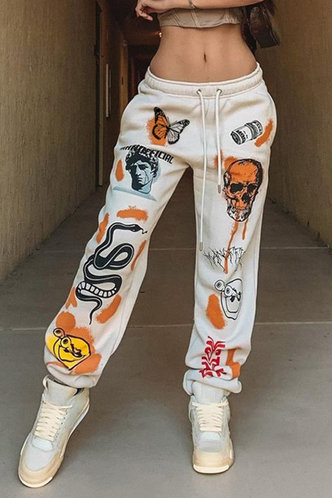 front_Andrewsixty-four Multicolor Pants