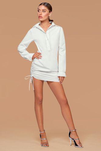 front_New Wonder {Color} Mini Shirt Dress