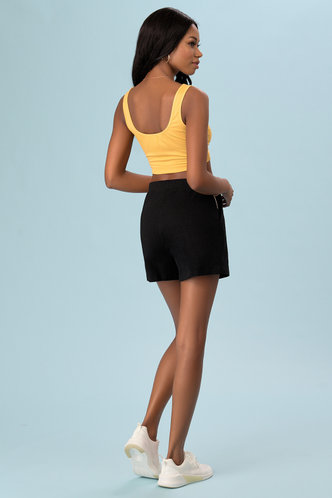 back_Just Wait {Color} Shorts