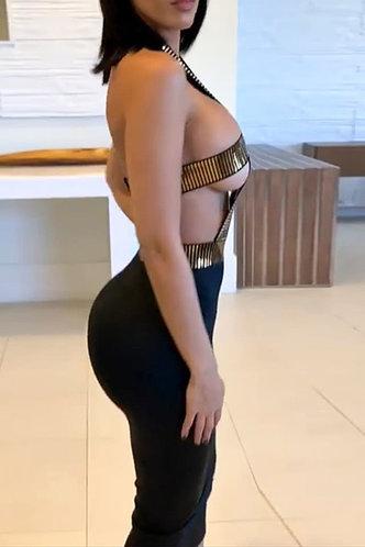 back_Hortensia Elaine Black Dress