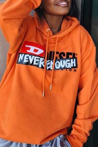 front_Hoodie   Pullover Orange Sweatshirts & Hoodies