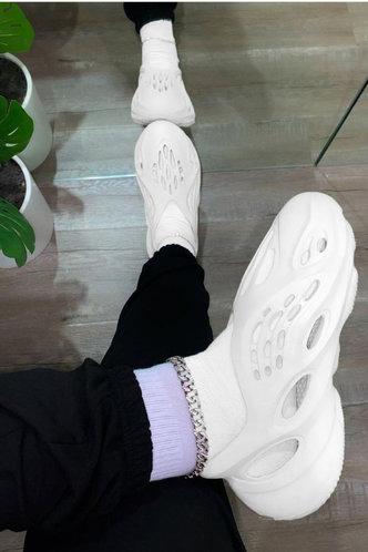 front_Isabel Evangeline White Sandal