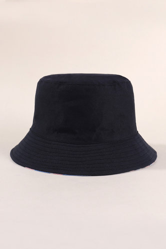 back_Imogene Ella Blue Camo Bucket Hat