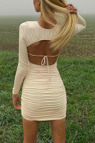 back_Selina Edwina White Open Back Dress
