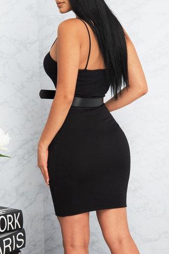 back_Sherry Eden Black Bodycon Dress