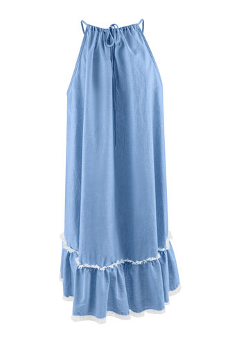 back_Beach Hour {Color} Mini Dress